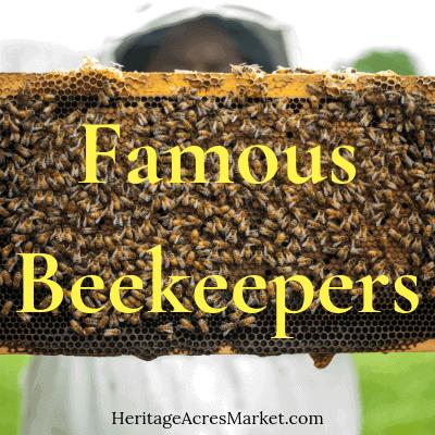18 Celebrity & Famous Beekeepers 3