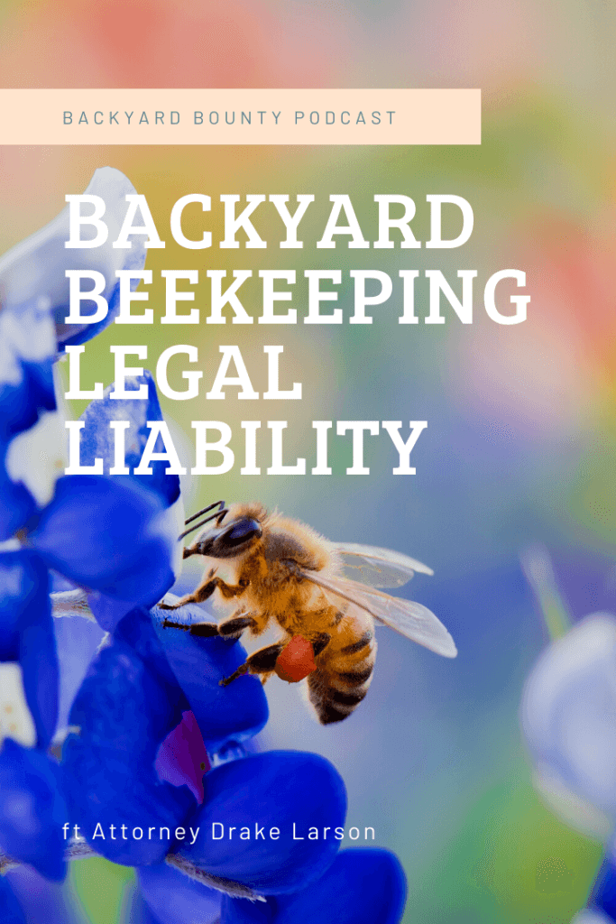 backyard beekeeping legal
